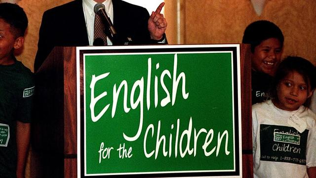 """Proposition 227 """"English for the Children Movement"""""""