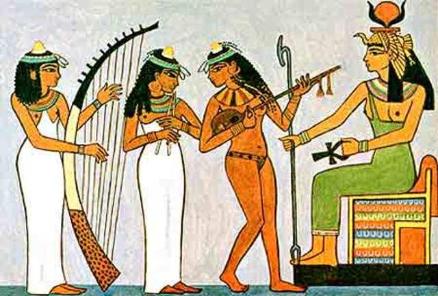 La música en Egipto