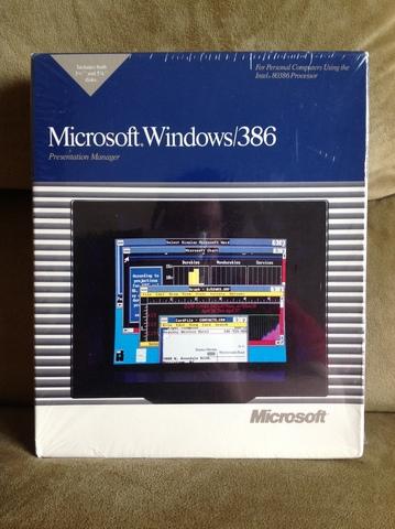 1987  Microsoft Windows/386 o Windows 386