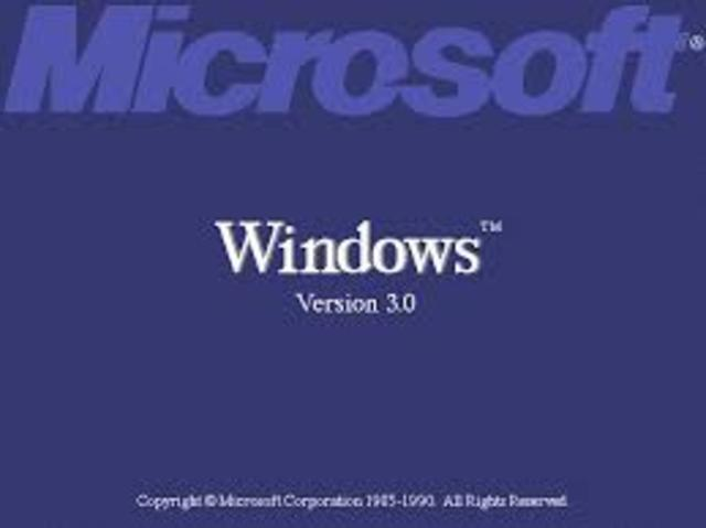 1990 Microsoft Windows 3.0