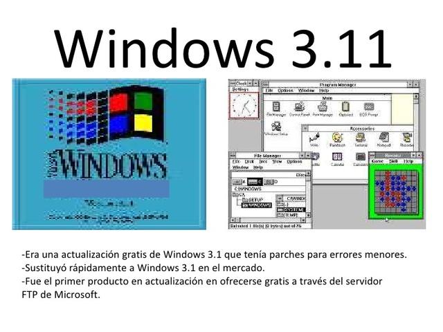 1993 Microsoft Windows 3.11