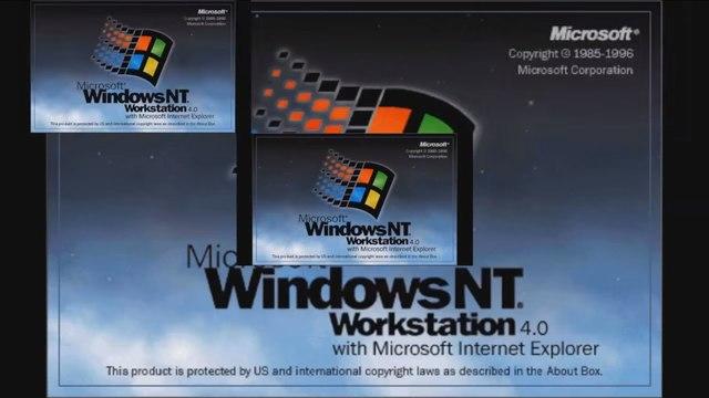 1996 Microsoft Windows NT 4.0