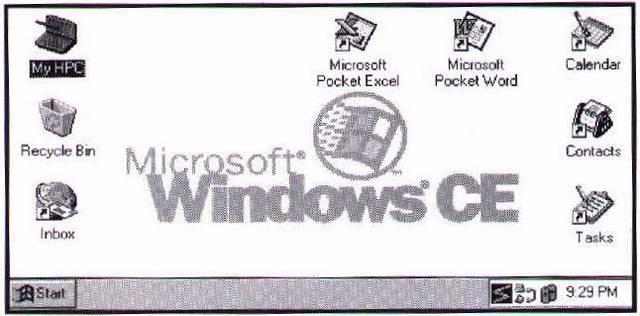 1996 Microsoft Windows CE 1.0