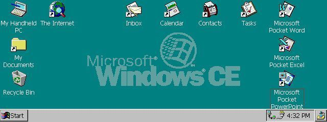 1997 Microsoft Windows CE 2.0