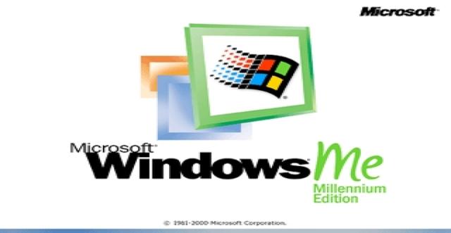 2000 Microsoft Windows ME (Millenium)