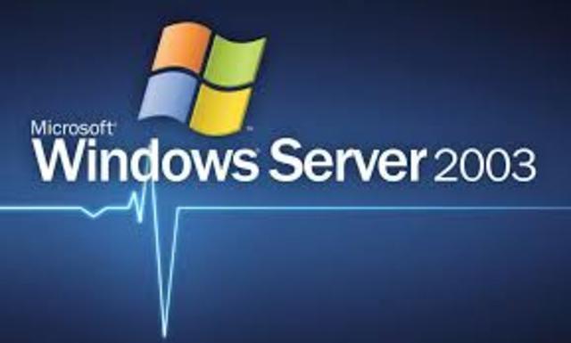 2003 Microsoft Windows Server 2003