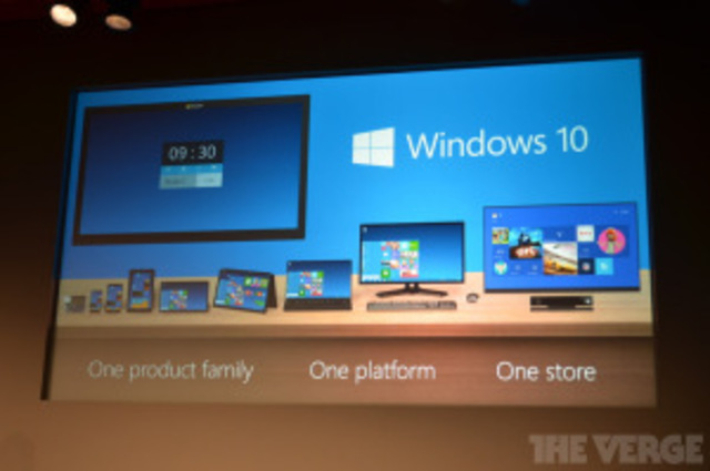 2014Microsoft saca la preventa del Windows 10