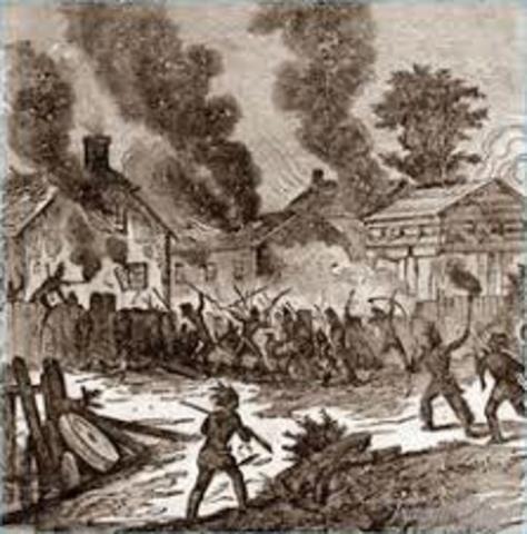 Pequot Indian War, Maryland