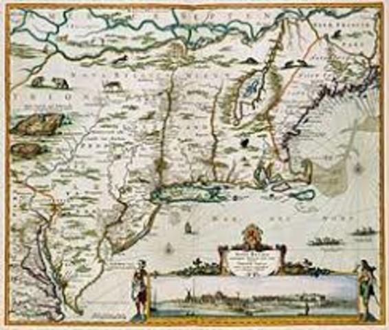 English conquer New Netherlands → NY