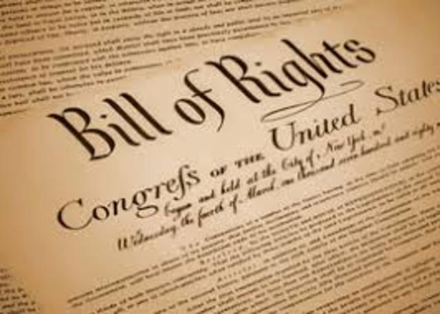 English Glorious Revolution and Bill of Rights