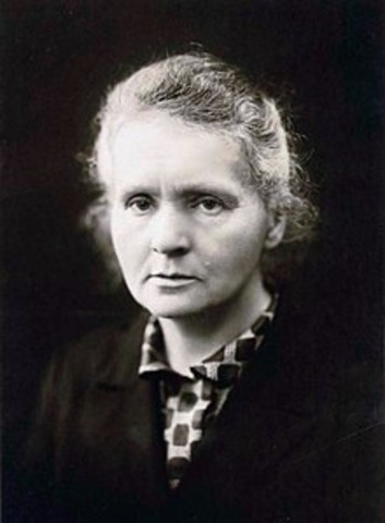 Marie Curie was born