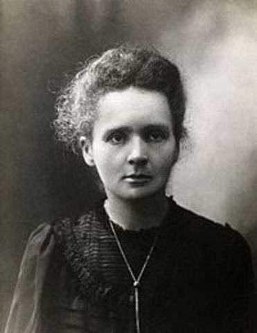 Marie Curie's Discovered Radium and Polonium