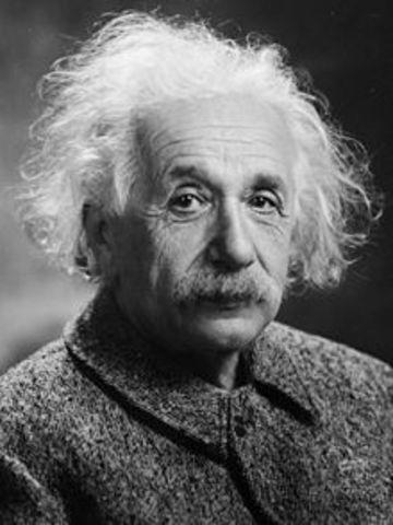 Albert Einstein was born