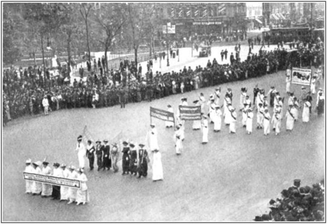NWP Suffrage Parade