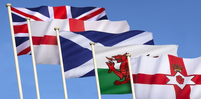 England, Wales, and Scotland unite into the UK