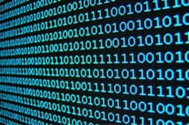 uso del código binario