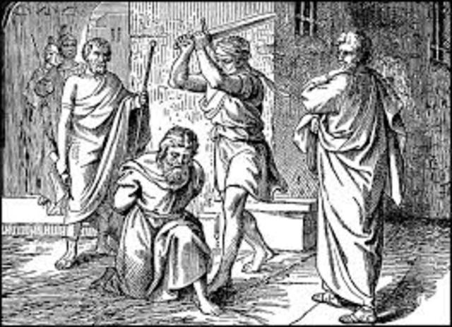 Paul the apostle beheaded