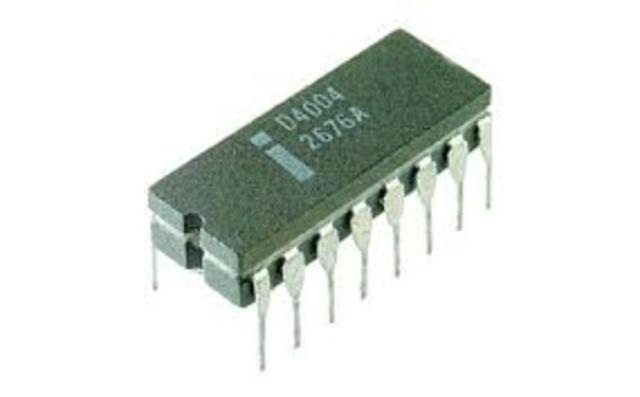 El primer microprocesador de 8 bits de Intel 8008