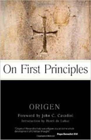 On First Principles by Origen