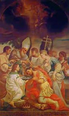 Armenia converts to Christianity