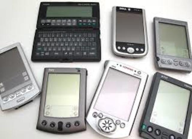 Computadores de bolsillo (PDAs)