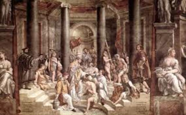Shapur II persecutes Christians in Persia
