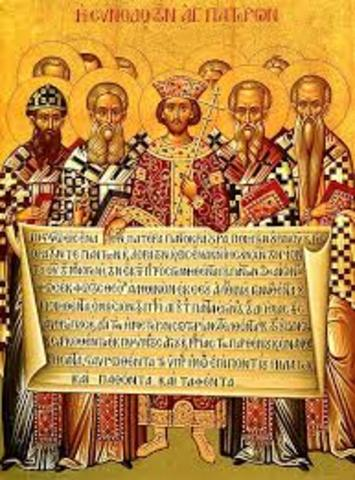 Nicene Christianity is made the official religion of the Empire