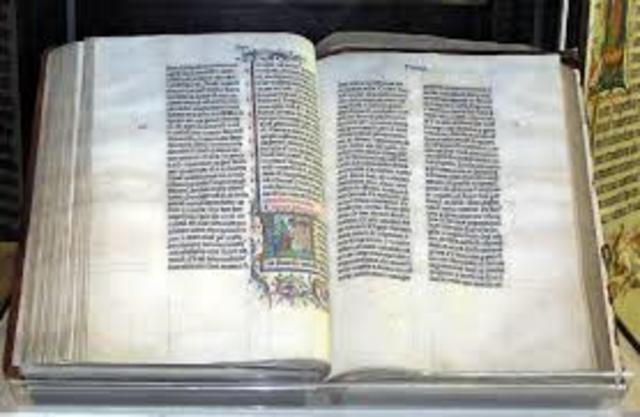 Jerome's Vulgate translates the Greek Bible into common Latin