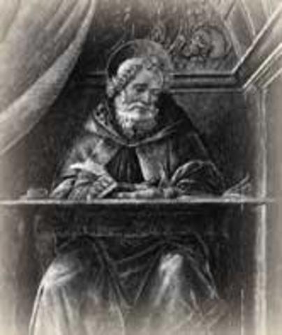 Pope Innocent I condemns Pelagianism