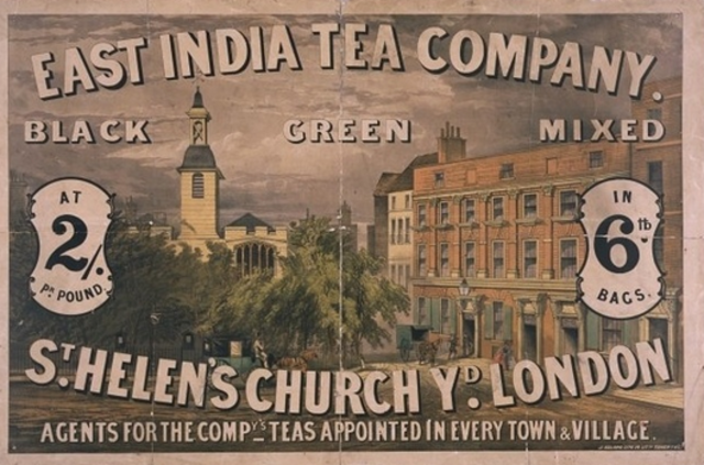 British East India Company granted tea monopoly