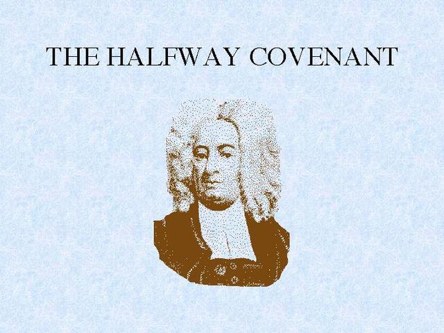Halfway Covenant in Massachussetts
