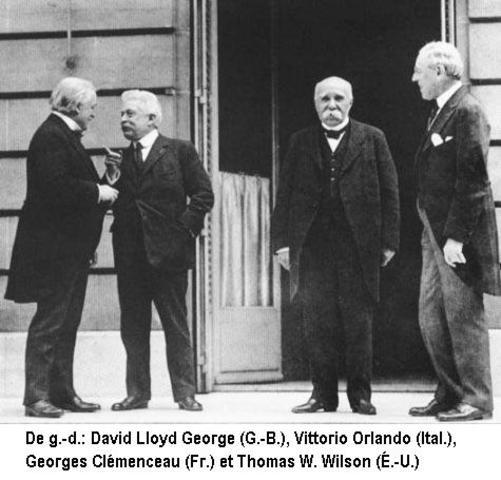 Traité de Versailles le 28 août 1919