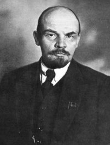 Prise de pouvoir des bolcheviks en Russie