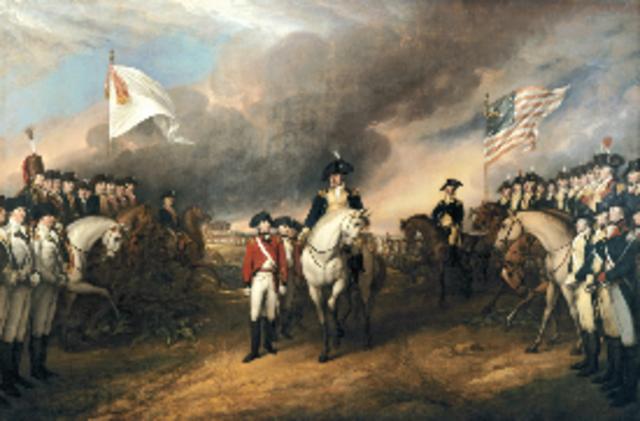Cornwallis's Surrender at Yorktown