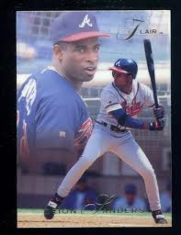 Deion played in the World Series with the Braves