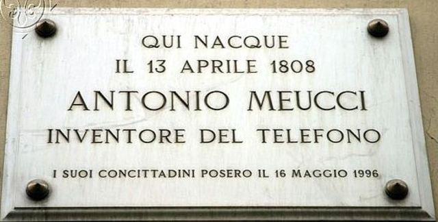 Muerte de Antonio Santi Giuseppe Meucci
