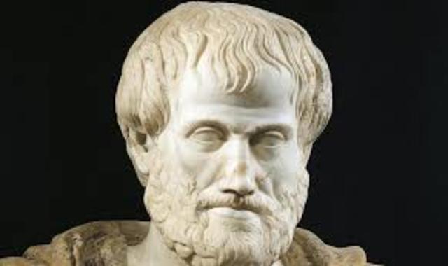 Aristoteles y los cuatro elementos