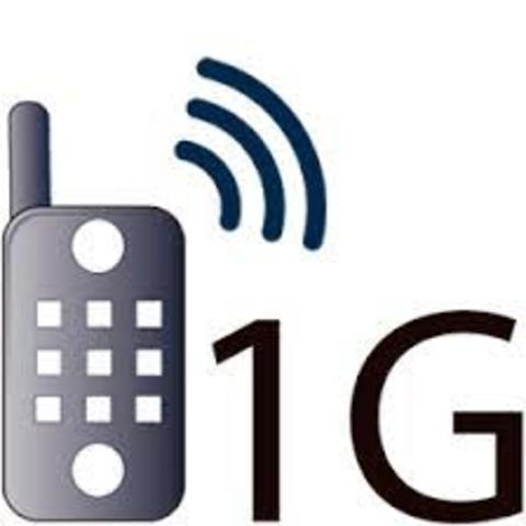 Telefonía móvil 1G