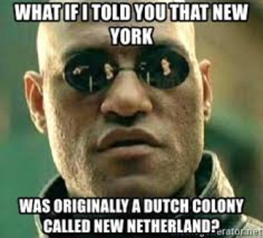 English conquer New Netherlands > NY