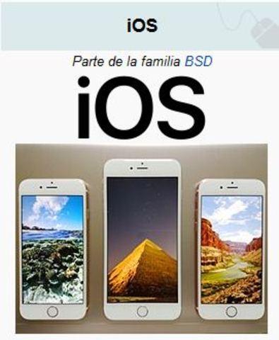 Sistema Operativo Móvil iOS