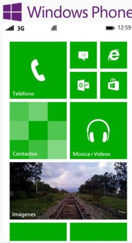 Sistema Operativo Movil WINDOWS PHONE