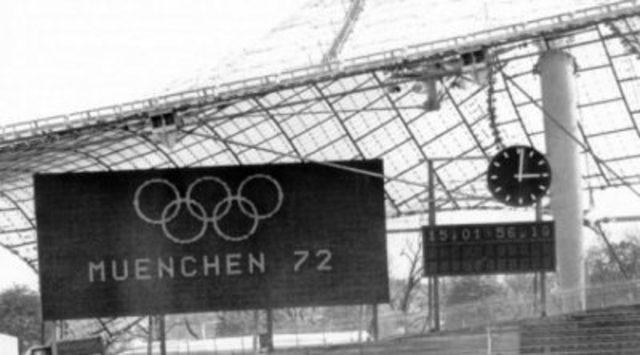 Massacre in Munich.