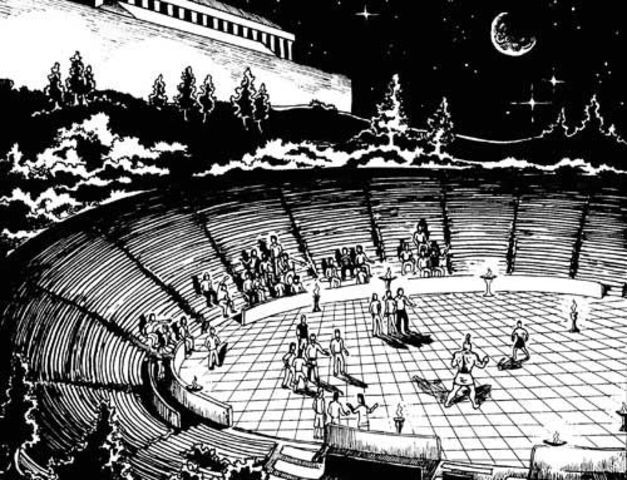 End of the Ancient Olympic Games