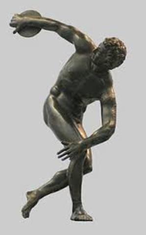 The Bronze Diskos Thrower