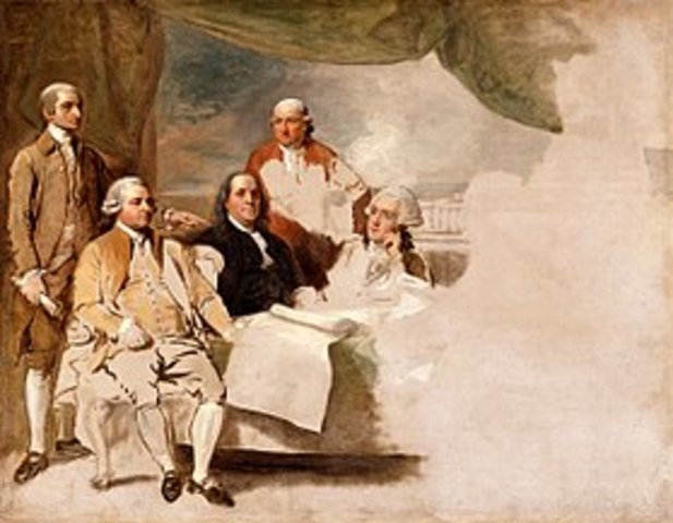 The Treaty of Paris in 1763