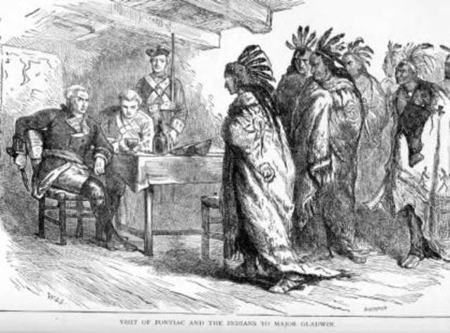 Pontiac's Rebellion of 1763