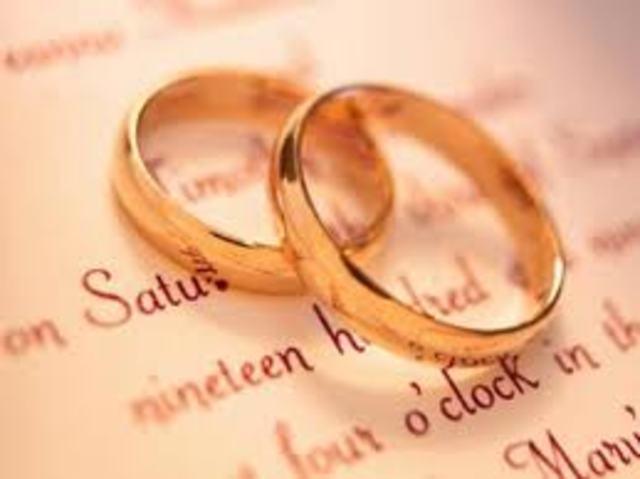 Redford Marries