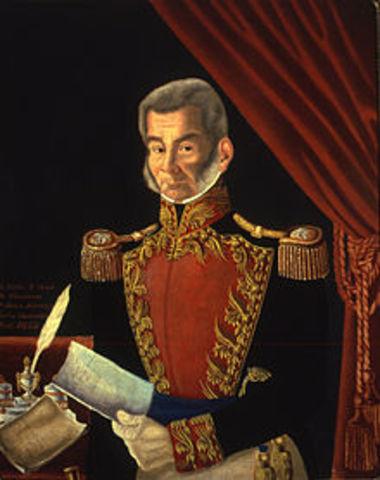 Fin de la dictadura de Santa Anna