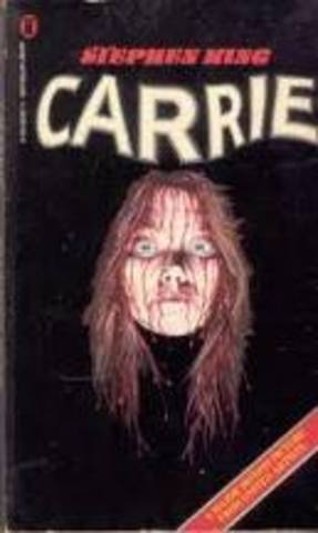 Stephen publishes his first novel, Carrie
