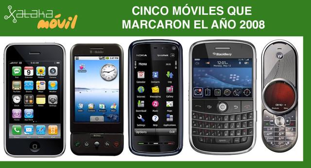 evolución del 2008 en los telefonos